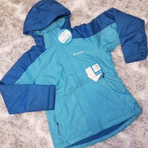 COLUMBIA Hooded Snowboard Jacket NWT